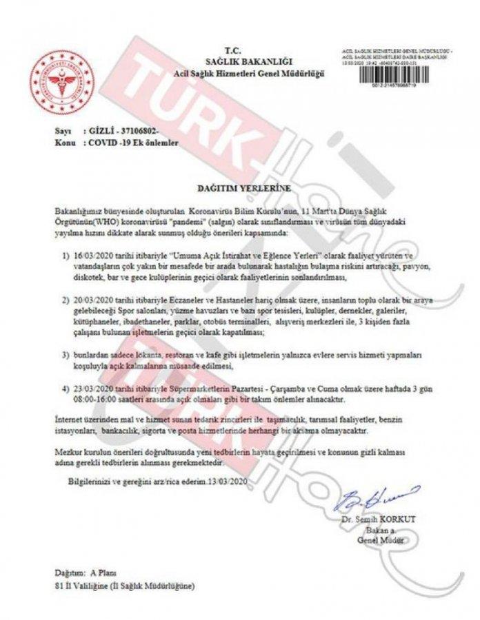 Başsavcılık sahte belgeye ilişkin soruşturma başlattı