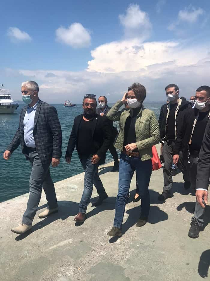 chp-istanbul-il-baskani-canan-kaftancioglu-buyukada'da