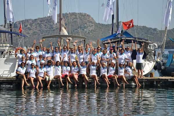 5. Deniz Kızı Kadın Yelken Kupası başlıyor
