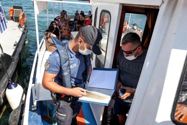 Adalar çevresinde 'Deniz Taksi' denetimleri arttı