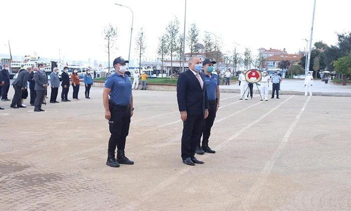 Adalar'da 19 Eylül Gaziler Günü kutlandı