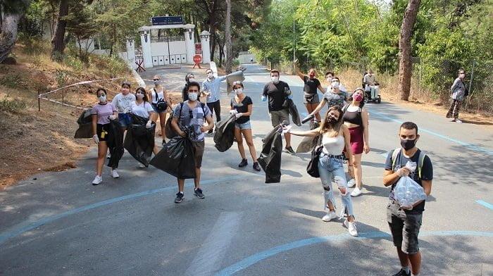 Bahçeşehir Üniversitesi'nin öğrenci kulübü BAUNext&SosyoTech'den örnek davranış