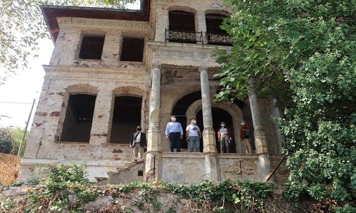 Kaymakam Dr. Mustafa Ayhan güçlendirilecek okulları yerinde inceledi