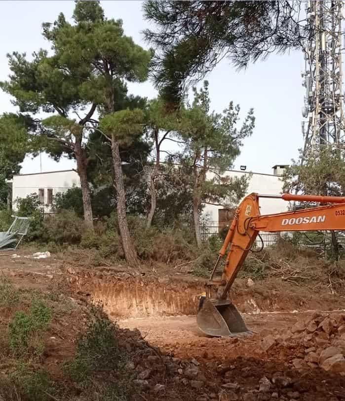 Büyükada'ya yeni verici kule  inşaatı!