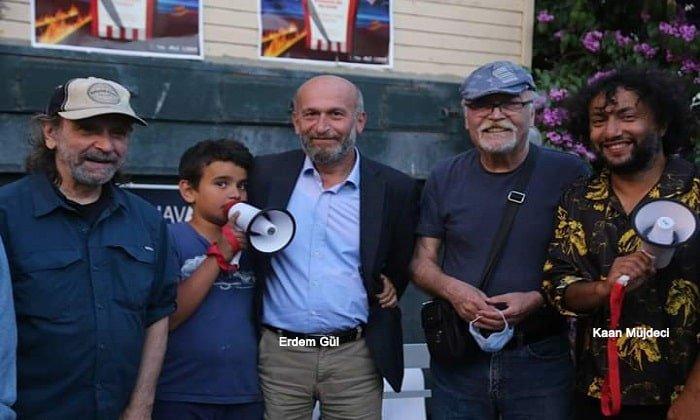 Erdem Gül'ün Almanya'dan Adalara getirdiği sinemacı PKK propagandacısı çıktı!