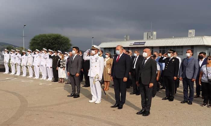 30 Ağustos Zafer Bayramının 99. yılı Adalar'da kutlandı