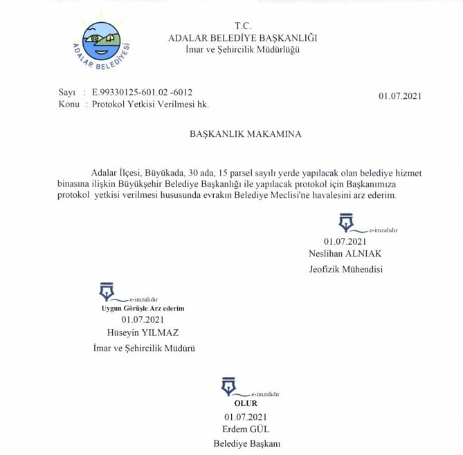 Adalar Belediyesi'nde yeni skandal!