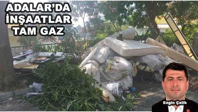 Adalar Belediyesi'nin çöp rezaleti!