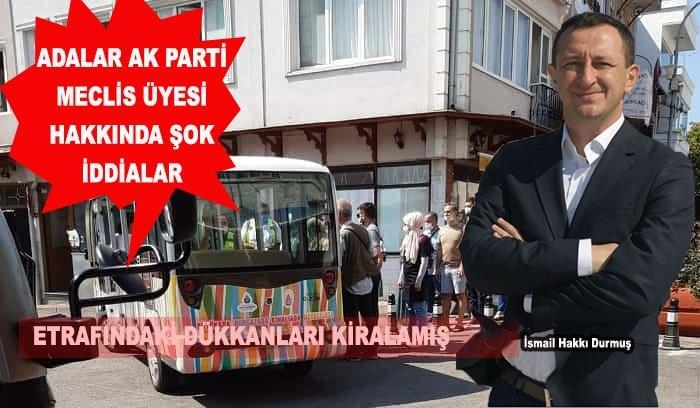 Adalar DSP İlçe Başkanı'ndan AKP Meclis Üyesine kafa karıştıran sorular!