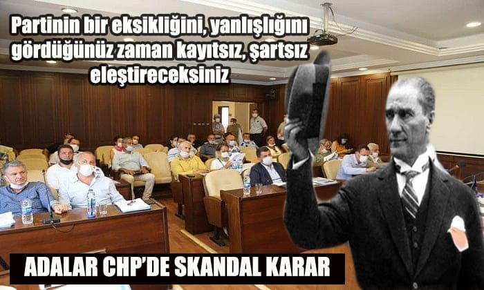 Adalar siyasetinde hareketli saatler! Kılıçdaroğlu'nun talimatıyla CHP'den ihraç edildi
