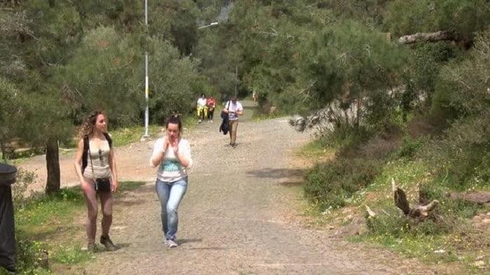 Aya Yorgi'ye tırmanış kısıtlama nedeniyle az sayıda kişiyle gerçekleşti
