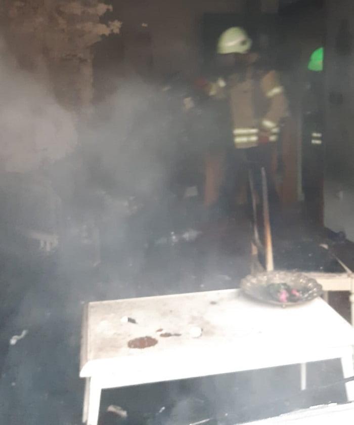 Büyükada'da elektrik sobasından çıkan yangın paniğe neden oldu!