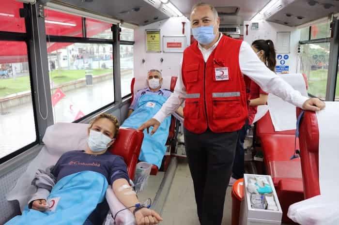 """Büyükada'da""""Dünya Gönüllü Kan Bağışçıları Günü"""""""