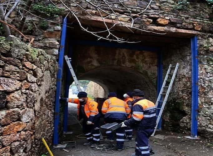 Büyükada'daki Nizam Köprüsü bakıma alındı