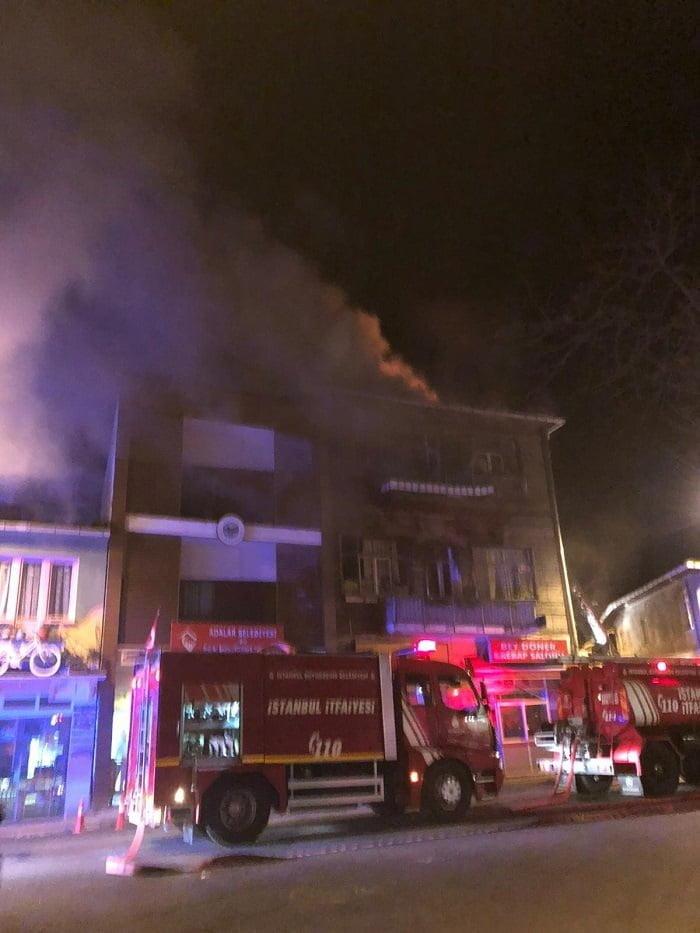 Büyükada'daki yangınla ilgili yeni görüntüler ortaya çıktı