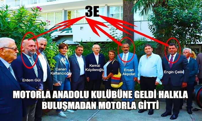 CHP Genel Başkanı Kılıçdaroğlu, Ada halkından kaçtı!