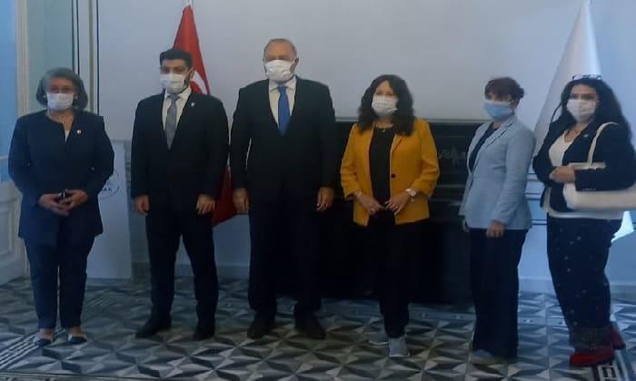 İYİ Parti Genel Başkan Yardımcısı Adalar'da