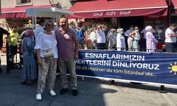 İYİ Parti Genel Başkan Yardımcısı Ağıralioğlu Büyükadayı ziyaret etti