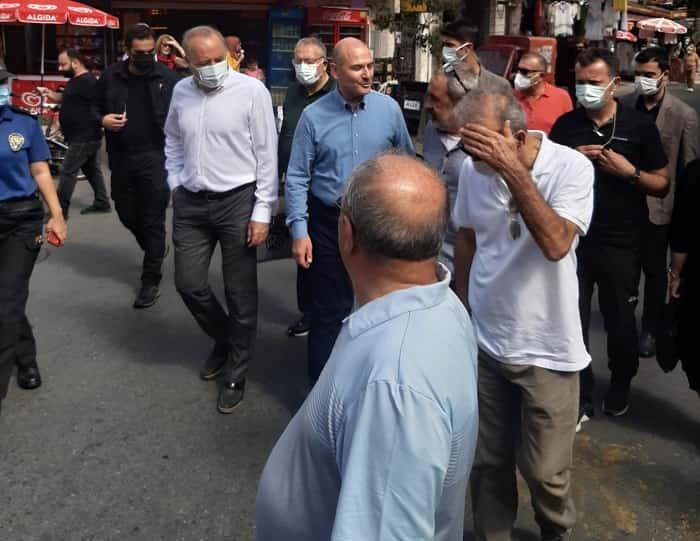 İçişleri Bakanı Süleyman Soylu'dan Büyükada'ya sürpriz ziyaret