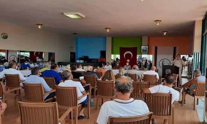 Kınalıada Su Sporları olağan genel kurulu yapıldı