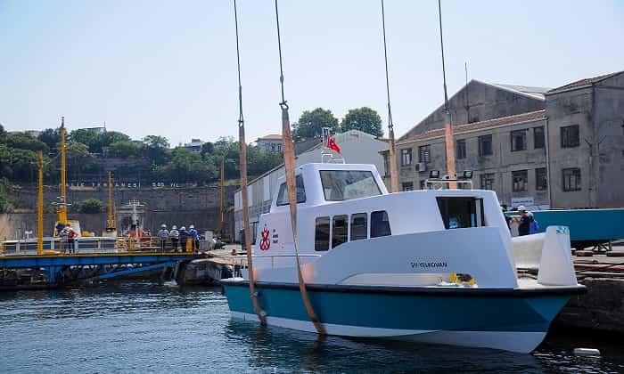 """Yeni nesil, çevreci """"Deniz Taksi"""" hizmete giriyor"""