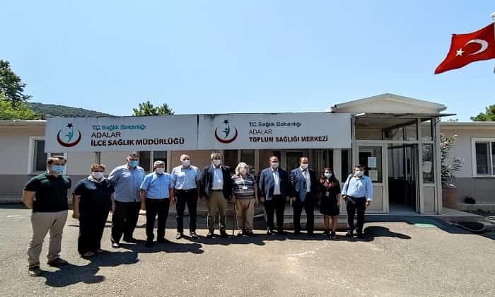 İstanbul İl sağlık Müdürü Memişoğlu'nun Büyükada ziyareti